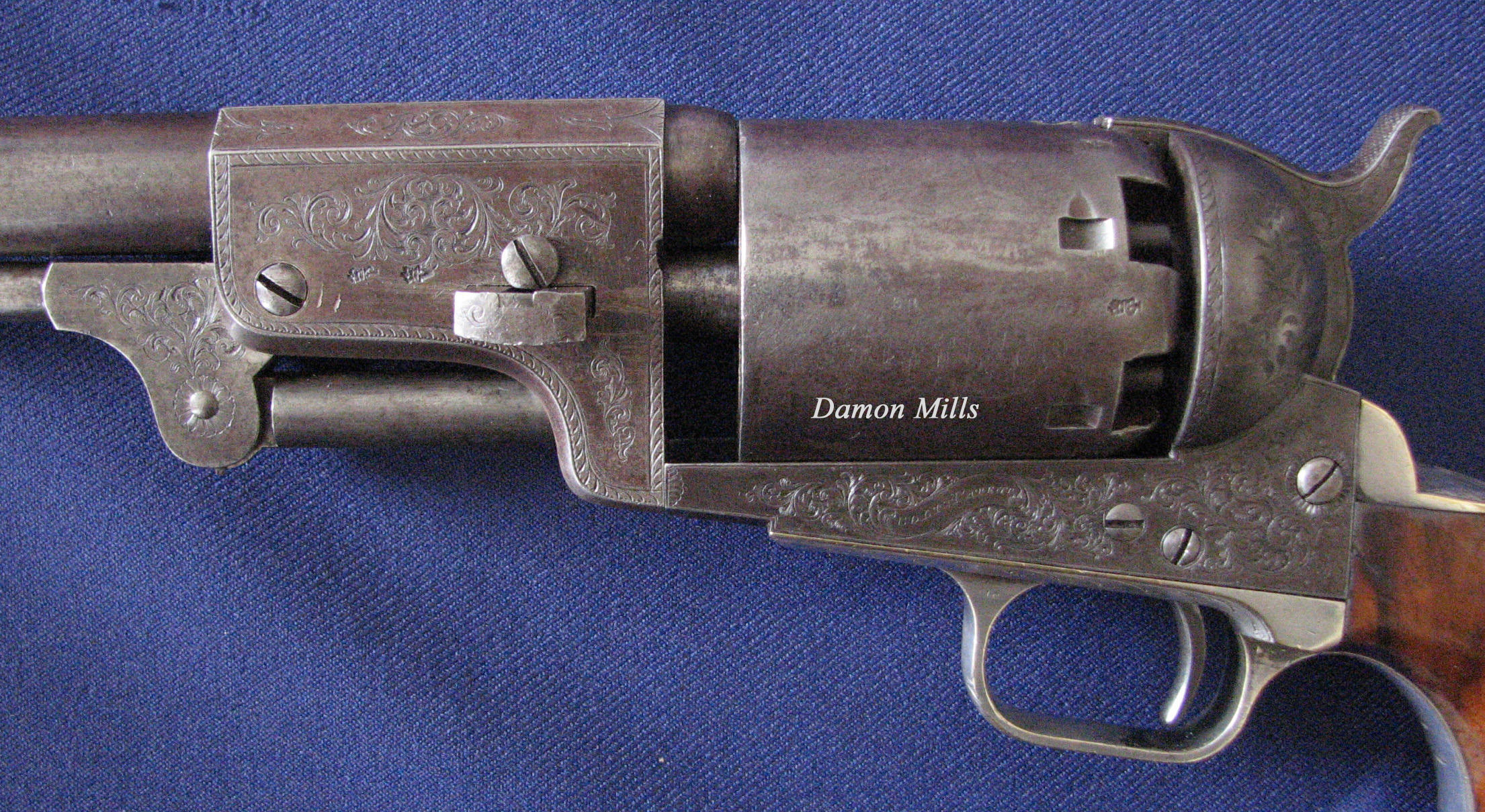 Colt Engraved London Dragoon 3632