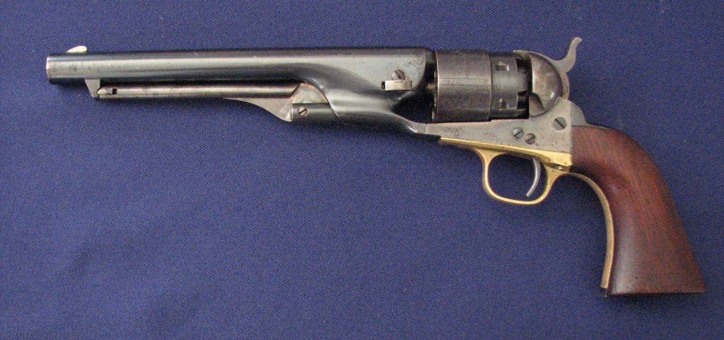 colt model 1860 army serial numbers
