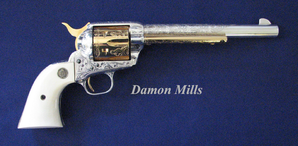 Damon Mills Colt SAA Buffalo Bill 3600